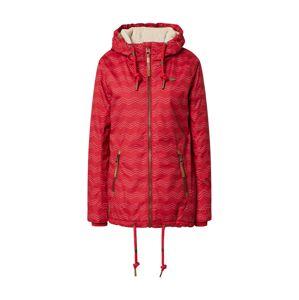 Ragwear Prechodná bunda 'Zuzka'  červená