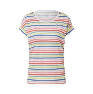 ESPRIT Tričko  biela / červené / modré / zelená