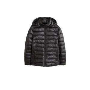 VIOLETA by Mango Zimný kabát 'Rise'  čierna