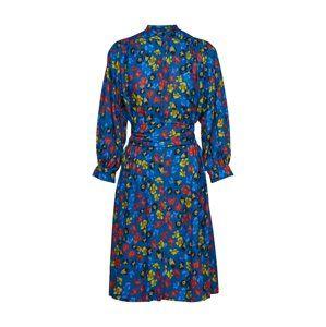 SET Košeľové šaty  modré / žlté / červené