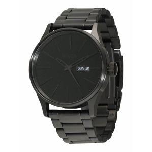 Nixon Analógové hodinky 'Sentry SS'  čierna