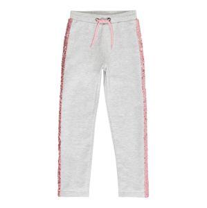 BLUE SEVEN Nohavice  sivá / ružová