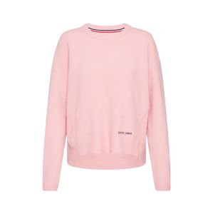Tommy Jeans Sveter 'Side Stitch Detail Sweater'  ružová