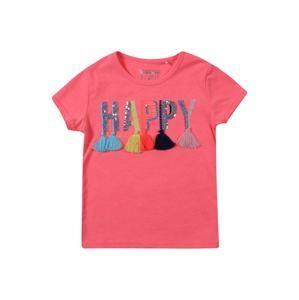 STACCATO Tričko  zmiešané farby / svetločervená