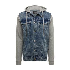 Hailys Men Jeansjacke 'Jacket Flynn'  modré / sivá
