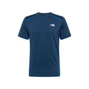 THE NORTH FACE Funkčné tričko  modrá / svetlomodrá / biela