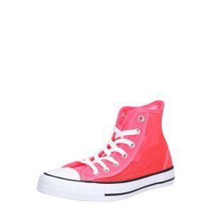 CONVERSE Členkové tenisky 'CHUCK TAYLOR ALL STAR - HI'  ružová / biela