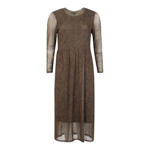 Vero Moda Curve Košeľové šaty 'VMKATE'  kaki