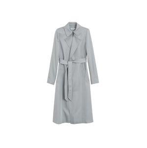 MANGO Prechodný kabát 'Dingdong'  sivá