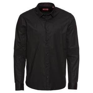 HUGO Biznis košeľa 'Erif'  čierna