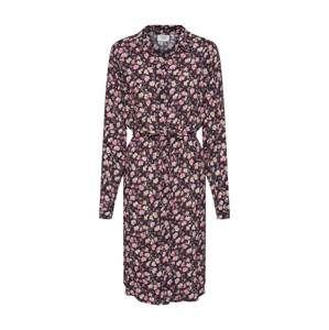Another Label Košeľové šaty 'Peck butterfly dress l/s'  zmiešané farby / ružová