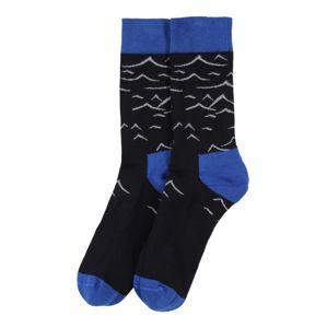 Bleed Clothing Ponožky 'Mountain'  námornícka modrá / sivá