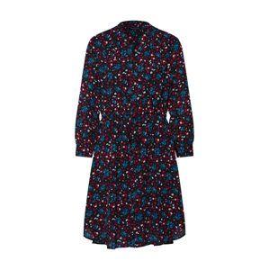 SELECTED FEMME Prechodný kabát 'DAMINA'  modré / červené / čierna