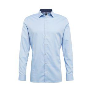 OLYMP Biznis košeľa 'No. 6 Uni Struktur'  modré