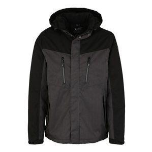 KILLTEC Outdoorová bunda 'Tiggo'  antracitová / čierna
