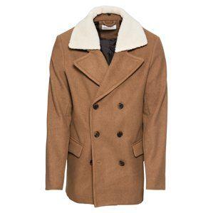 Pier One Zimný kabát 'Witney Russian Cote'  farba ťavej srsti