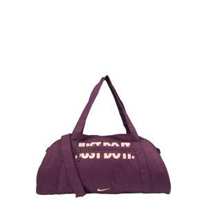 NIKE Športová taška 'Club Training'  bordové