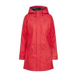 Derbe Prechodný kabát 'Travel Friese Check Girls'  červené