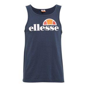 ELLESSE Tričko 'FRATTINI'  tmavomodrá / oranžová / biela