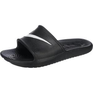Nike Sportswear Šľapky 'Kawa Shower Slide'  čierna / biela