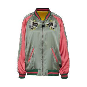 DIESEL Prechodná bunda  žltá / zelená / ružová / čierna