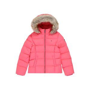 TOMMY HILFIGER Zimná bunda  ružová