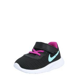 Nike Sportswear Tenisky 'Tanjun Toddler'  zelená / fialová / čierna