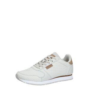 WODEN Sneaker 'Ydun Croco'  biela / svetlosivá