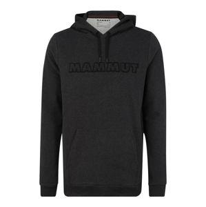 MAMMUT Športová mikina  čierna / sivá