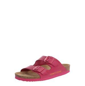 Tommy Jeans Pantolette 'JOAN 2A'  ružová