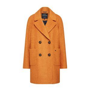 Funky Buddha Prechodný kabát  oranžová