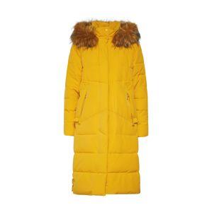 RINO & PELLE Zimný kabát 'Tamma'  žlté