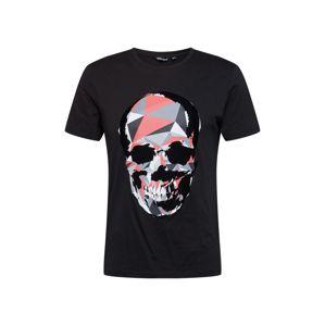 ANTONY MORATO Tričko  čierna / ružová / sivá / antracitová / biela