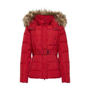 Pepe Jeans Zimná bunda 'OLIVIA'  červené