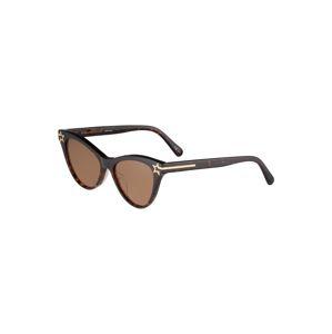 Stella McCartney Slnečné okuliare  gaštanová / zlatá