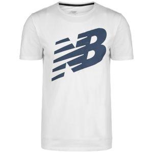 new balance Funkčné tričko  biela / modré