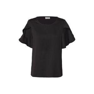 VILA Tričko 'LOPEZ'  čierna