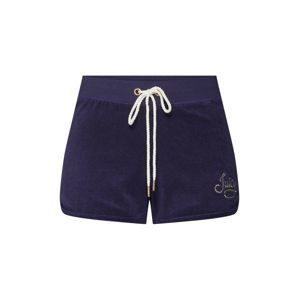 Juicy Couture Black Label Nohavice 'ROPE MICRO TERRY SHORT'  modré