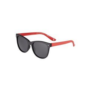 Stella McCartney Slnečné okuliare 'SK0038S-008 48'  dymovo modrá / čierna / červená