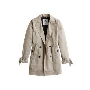 HOLLISTER Prechodný kabát  sivá