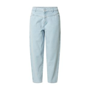 Noisy May Džínsy 'NMJUNE NW RELAXED TAPERED ANKLE JEANS BG'  modré