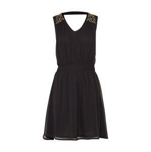 VERO MODA Kokteilové šaty 'Lollie'  čierna