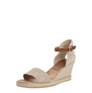 Carvela By Kurt Geiger Remienkové sandále 'STELLA'  béžová / zlatá