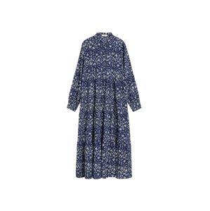 MANGO Plážové šaty 'mykonos-i'  modrá