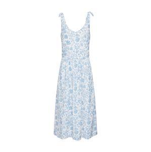 ESPRIT Letné šaty  dymovo modrá / biela ako vlna