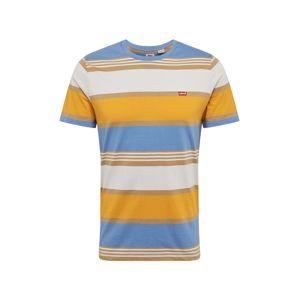 LEVI'S Tričko  žltá / svetlomodrá / oranžová