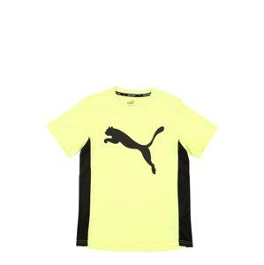 PUMA Funkčné tričko  žltá / čierna