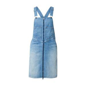 G-Star RAW Šaty  modrá denim