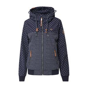 Ragwear Prechodná bunda 'NUGGIE MARINA'  šedobiela / námornícka modrá