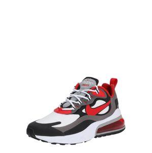 Nike Sportswear Nízke tenisky 'Air Max 270 React'  červené / biela / čierna